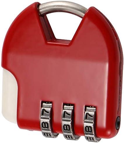 Cerraduras De Equipaje (Paquete De 5), Combinación De 3 Dígitos ...