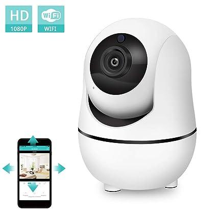 NewPal WiFi camera1080P casa IP cámara inalámbrica para Mascotas niñera bebé Monitor cámaras de vigilancia Soporte
