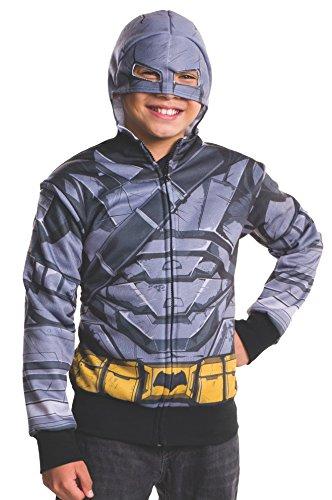 Rubie's Costume Batman v Superman: Dawn of Justice Armored Batman Child Hoodie, Small]()