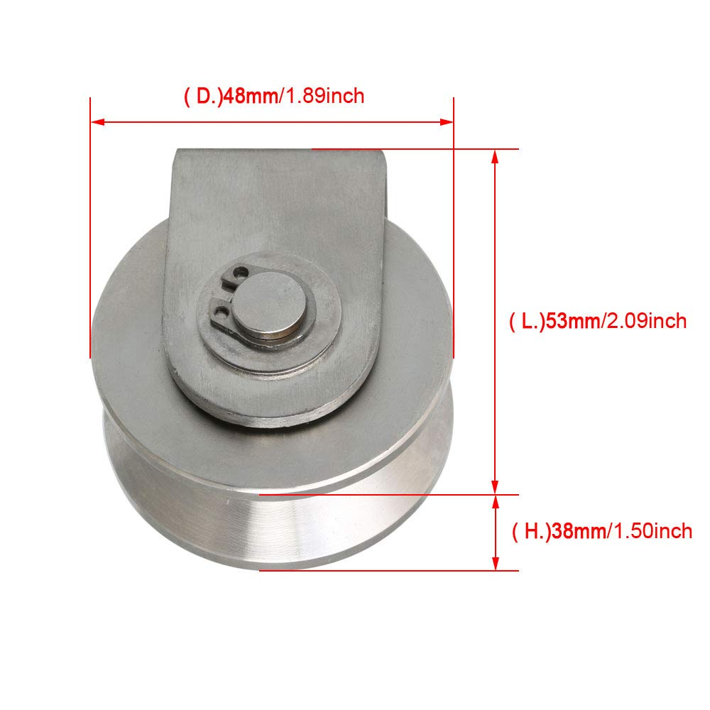 "RDGTOOL 5PZ ARGENTO barra d/'acciaio 5mm DIAMETRO 13 /""modello lungo Forniture Ingegneria"