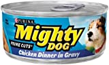 Purina Mighty Dog Prime Cuts Dog Food - Chicken Dinner in Gravy, 24 Pack
