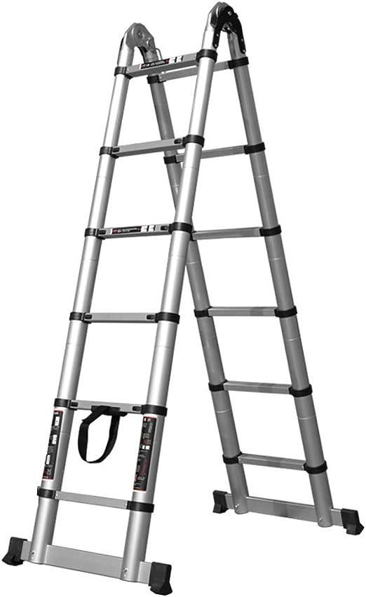 MC-BLL-ladder Escalera portátil de bambú Escalera de Mano Escalera ...