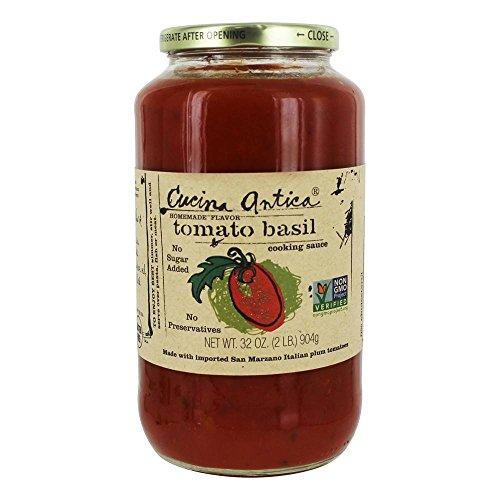 - Cucina Antica Tomato Basil Sauce, 32 oz