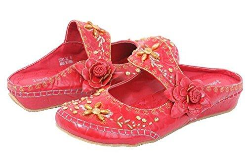 Rouge Pour Fashion JohnFashion Femme Sandales John q8ZXgw