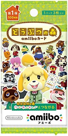 Animal Crossing Card amiibo [Animal Crossing Series] 5 pack set by ...
