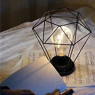qulista lámpara de noche luminosa estilo nortique luz lámpara de ...