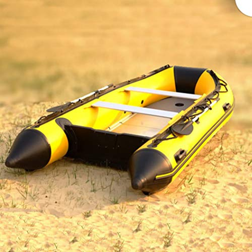 HYYQG Inflatable Kayak 6 Person,Suitable for Flood Fighting and Emergency Rescue, Emergency Rescue; Maritime Exploration and Other Operations.