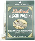 Roland Dried Mushrooms, Funghi Porcini, 0.45 Ounce (Pack of 4)