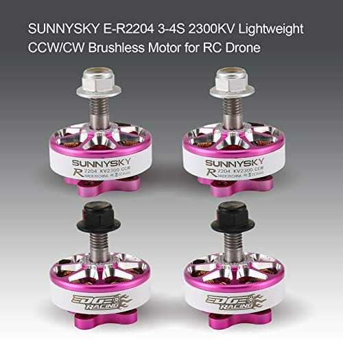 Wikiwand SUNNYSKY E-R2204 3-4S 2300KV Lightweight CW/CCW Brushless Motor for RC Drone