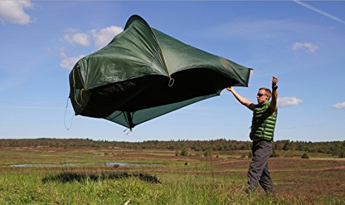 Nordisk Faxe tunnel tent 4, SI green 2016 tube tent ...