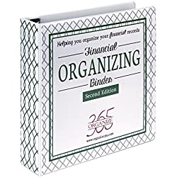 Organize 365 Financial Binder. Sort Bills, Insurance Policies, Credit Card Records and Other Important Finance Documents in our Efficient Filing System Designed by Professional Organizer Lisa Woodruff