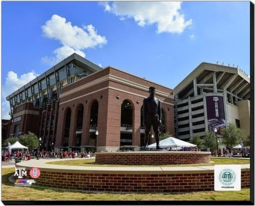 Texas A&M Aggies Kyle Field Texas A&M University 2014 40x50 Stretched Canvas by Biggsports