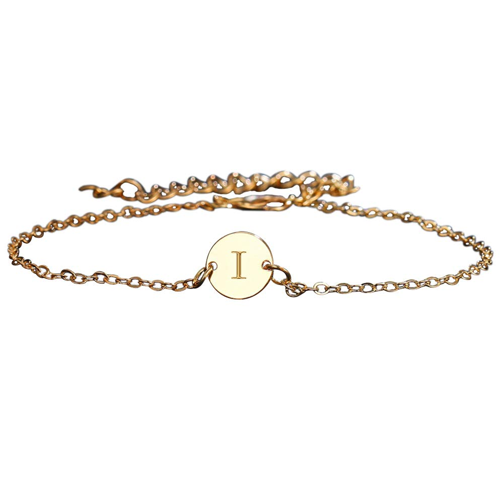 Butterfly Iron Anklets, Fashion 26 Letters Metal Anklet Bracelet Chain Women Beach Sandal Barefoot Jewelry