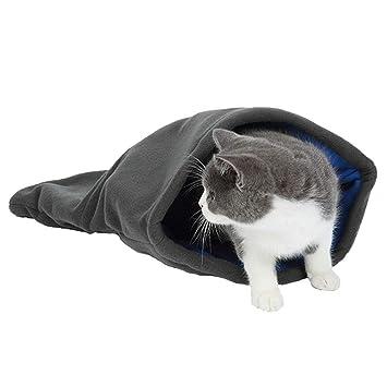 ASOCEA - Saco de Dormir portátil para Gatos, para Mascotas, Cama, casa,