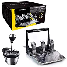 ThrustMaster Pack: TH8A & T3PA Pro Race Gear, caja de cambios manual y secuencial TH8A + juego de 3 pedales T3PA Pro 100% metalicos (Windows)