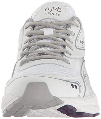 Sneakers White Grey Infinite Women's Ryka Pq7ASS