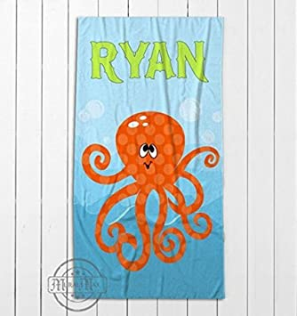 Monogrammed beach towel, personalized towel, pool towel, monogrammed towels,  wedding, kids beach towel, vacation, kids towel, mr and mrs, we