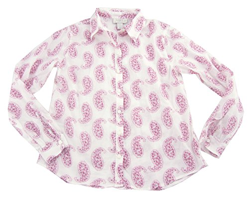 ann-taylor-loft-womens-long-sleeve-button-down-blouse-red-white-xx-small-petite