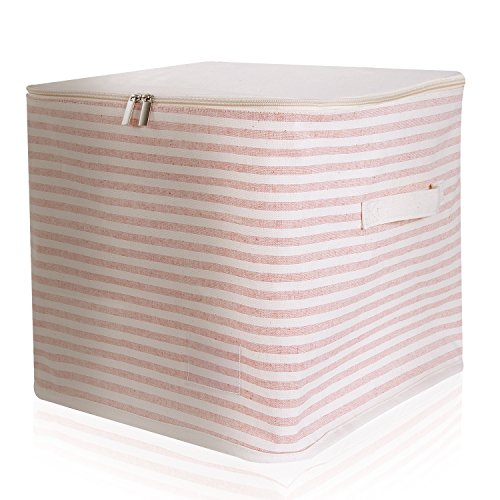 fabric cube bins with lids - 8