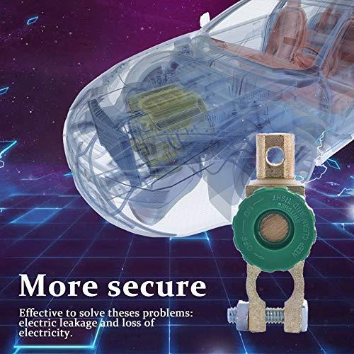 Interruptor de enlace de terminal de bater/ía de cobre de aleaci/ón de zinc profesional Interruptor de desconexi/ón r/ápida Interruptor aislador Auto accesorios de autom/óvil