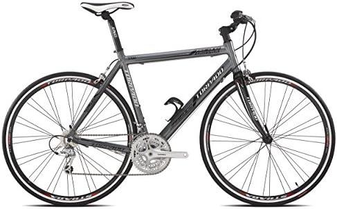 Torpado bicicleta de carretera kcs aire 3 x 9 V flat alu carbon 51 gris talla (