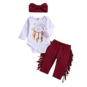 f9f1907e5c74 Amazon.com  Fashion Clothes Set For Newborn Infant Baby Girl Boy ...