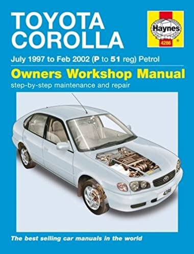 toyota corolla petrol service and repair manual 1997 to 2002 rh amazon com Toyota Parts Toyota Parts