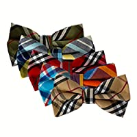 Ravenhill Premium Adjustable Neck Tie Bowties 5-pack