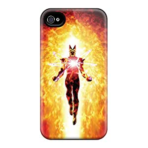 Snap-on Firestorm I4 Case Cover Skin Compatible With Iphone 4/4s