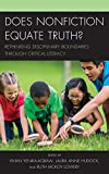 Does Nonfiction Equate Truth?: Rethinking