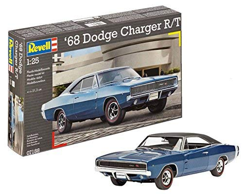 1:25 Revell 1968 2 In 1 Dodge Charger [並行輸入品] B07SGMBSGP