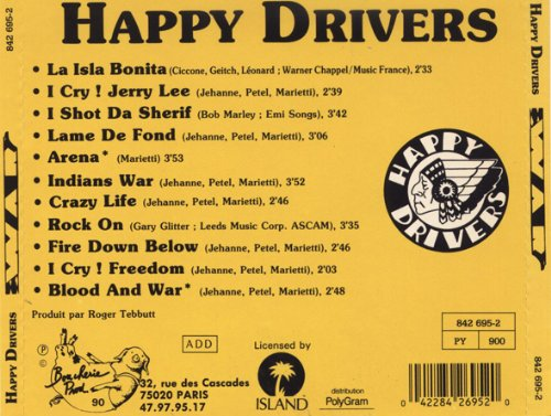 happy drivers la isla bonita