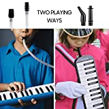 CAHAYA Melodica 2 Double Mouthpieces Tube Sets