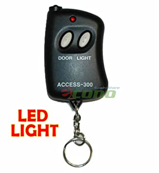 Mini 10 Digit Codes Remote Control Garage Gate Opener Transmitter Access-300