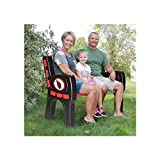 Imperial Green Bay Packers Park Bench