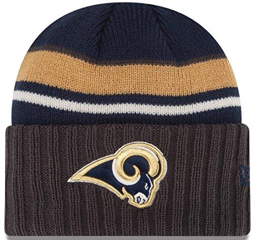St. Louis Rams New Era NFL Prep Class Cuffed Knit Hat by New Era