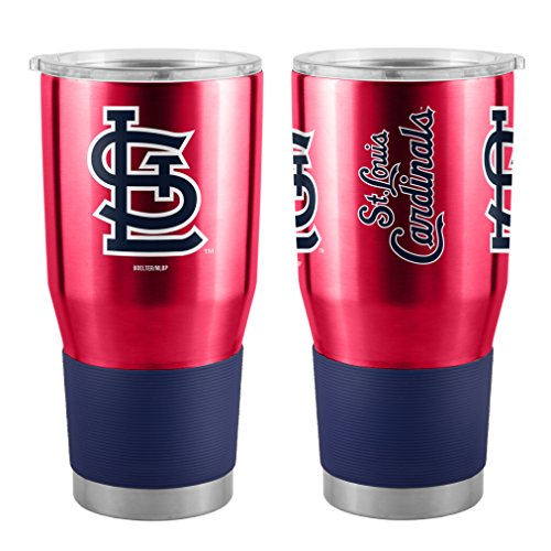 (Boelter MLB St. Louis Cardinals 30 oz. Ultra Tumbler MLB St. Louis Cardinals, Black, Small)
