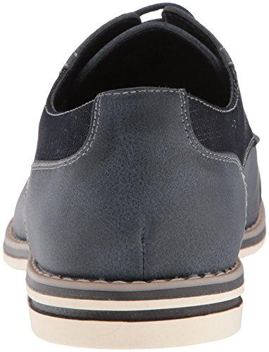 Non Elencato Da Kenneth Cole Mens Ozzie Lace Up B Oxford Navy