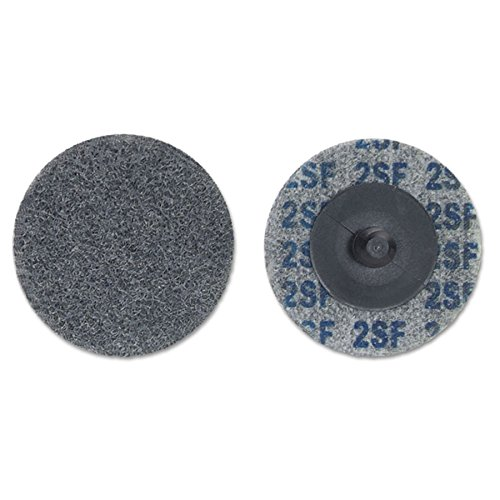 DEBURRING & FINISHING WHEEL TYPE LLL 2 X 1/4 by MERIT ABRASIVES 481- (Image #1)