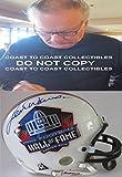 Autographed Len Dawson Mini Helmet - hof coa proof - Autographed NFL Mini Helmets
