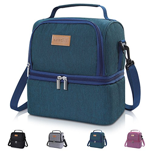 Cheap  Lifewit Insulated Lunch Box for Adults / Men / Women / Kids,..
