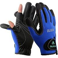 Posa 2 Cut Fingers Fishing Gloves Skidproof Sun...