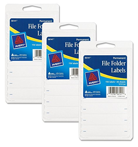 Avery Folder Labels Inches 468 Count