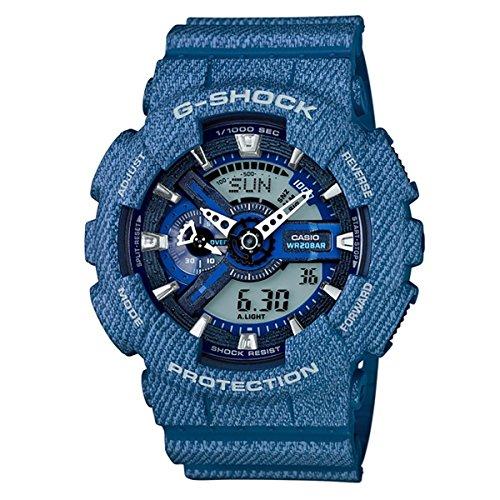 CASIO Men's watch G-SHOCK DENIM'D COLOR GA-110DC-2AJF