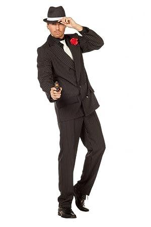 shoperama Hombre Disfraz de Gangster Incluye Sombrero mafioso ...