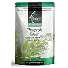 Special Tea Company Chamomile Flower Organic Loose Leaf Herbal Tea, 3-Ounce