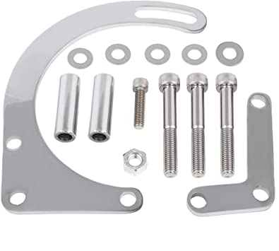 FRD SB 289 /& 302 Chrome Billet Aluminum Alternator Bracket Set