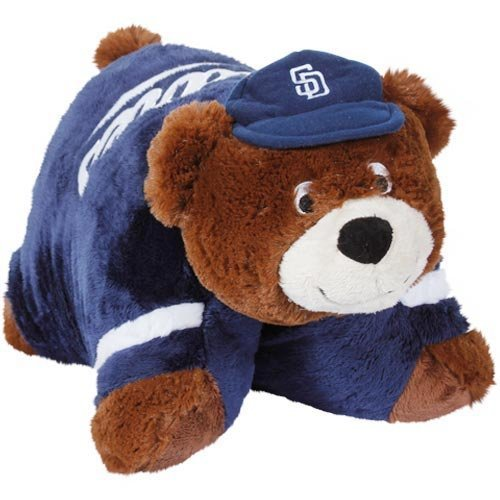 (Fabrique Innovations MLB Pillow Pet, San Diego Padres, Large)