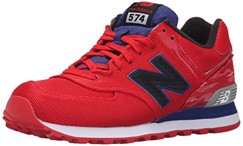 New Balance Men's ML574 Summer Waves Running Shoe Red/White