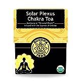 Organic Solar Plexus Tea - Kosher, Caffeine-Free, GMO-Free - 18 Bleach-Free Tea Bags